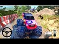 Challenging Monster Truck Stunts Super Drive - Gameplay Android game - monster truck games