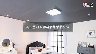 비츠온 LED 뉴 채송화 방등 50W