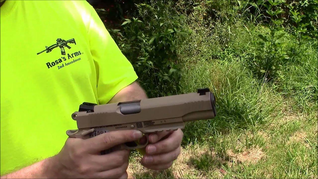 Colt M45A1 USMC CQBP 1911 Pistol Review