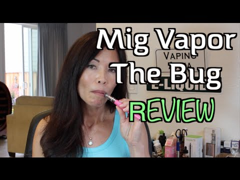 The Bug by Mig Vapor | Best New Mini Sub Ohm Vape Pen