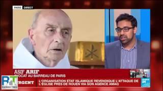 France24: Ahmadiyya Muslims condemn France Church Attack