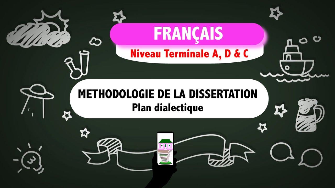 Cours de francais dissertation