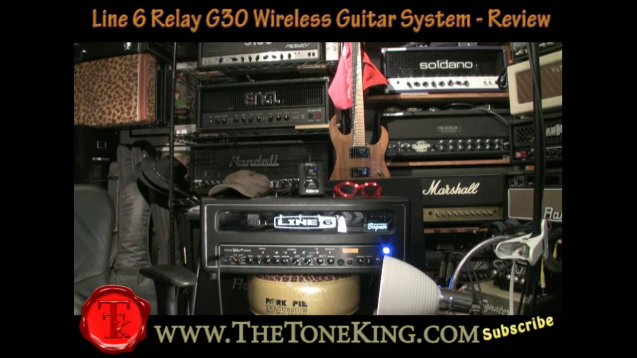 ttk 39 s line 6 relay g30 wireless guitar system review g30 g50 g90 spider valve mkii music man. Black Bedroom Furniture Sets. Home Design Ideas