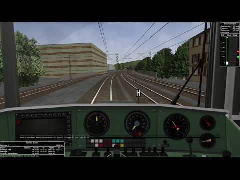 (ProTrain 3 - Stuttgart-München) - [S-Bahn Mangel 1] - German Trains 5 [MSTS/Open Rails]