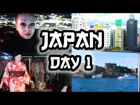 FIRST DAY IN JAPAN! - ABANDONED ISLAND & KIMONOS | Toxic Tears Vlog