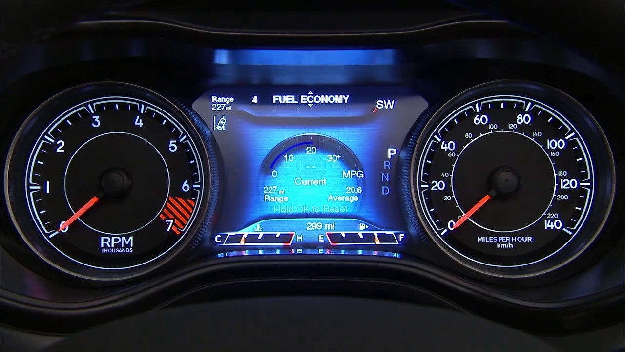 Instrument Cluster Display The Digital Dashboard On The