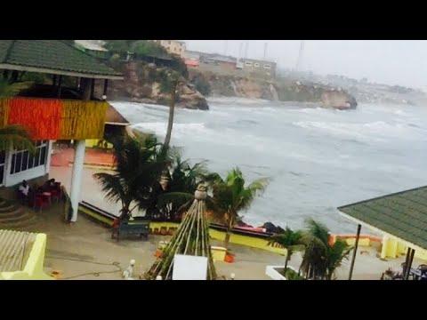 Ghana 🇬🇭 Sea Front 🌊Restaurant Accra James Town☀️🌴