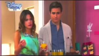 Violetta 2 English - Fran And Cami Hide Diego From Leon
