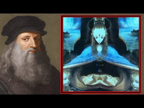Strange Alien Depictions in Da Vinci's Paintings: Hidden Messages