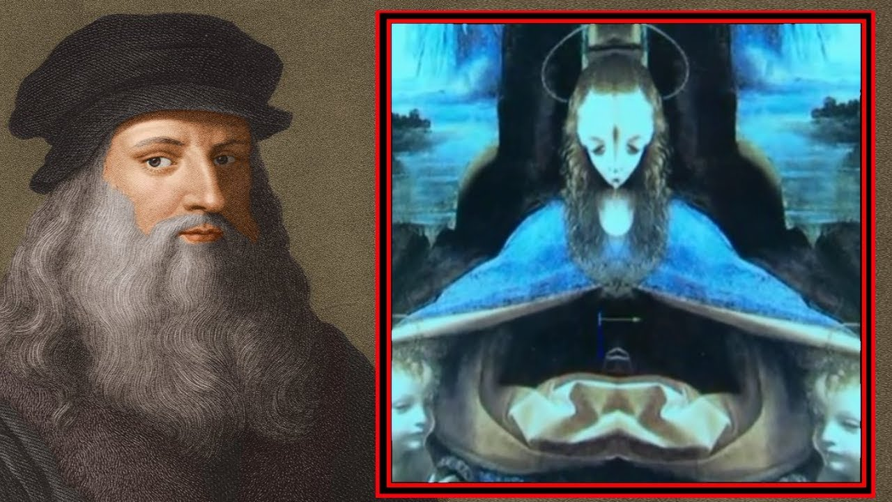 Strange Aliens in Da Vinci's Paintings: Hidden Messages ... Da Vinci Paintings Hidden Messages