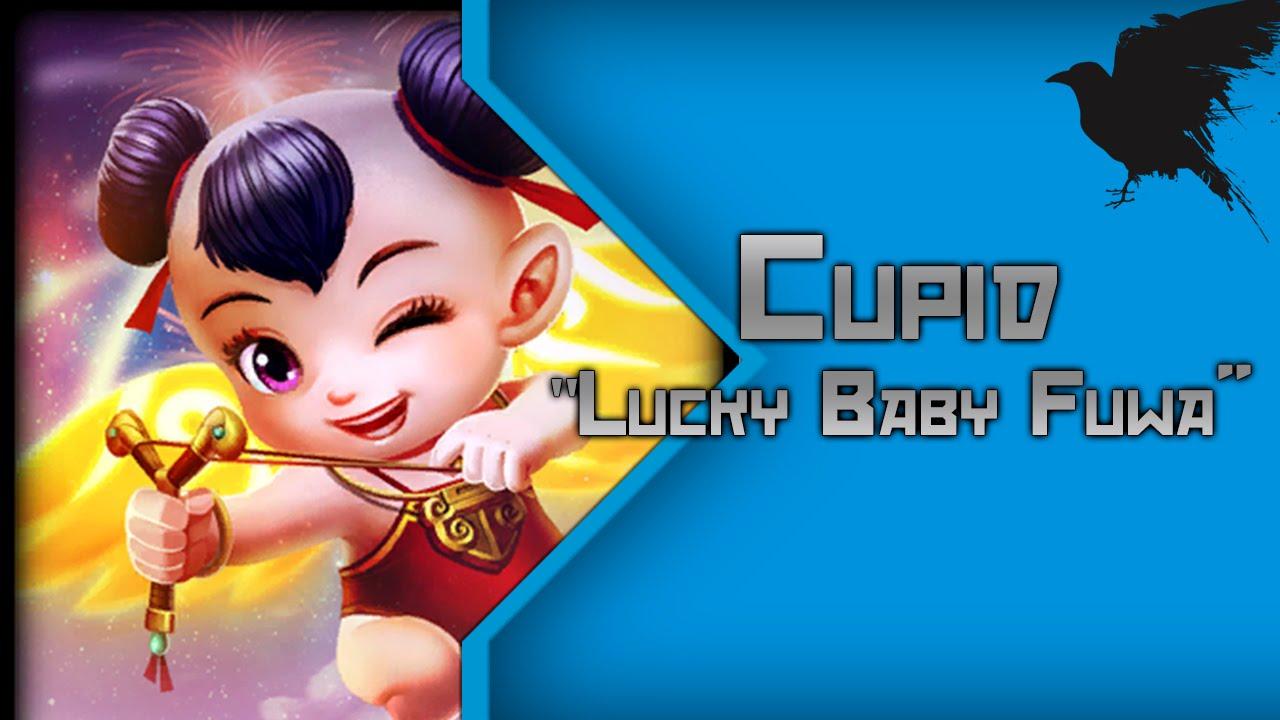 Smite Skin Show #12 Cupid Lucky Baby Fuwa - YouTube