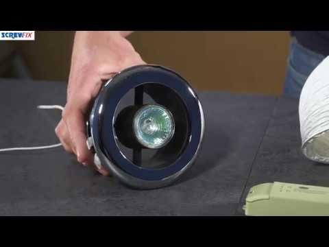 MANROSE SHOWER LIGHT & EXTRACTOR FAN KIT CHROME 100MM ...