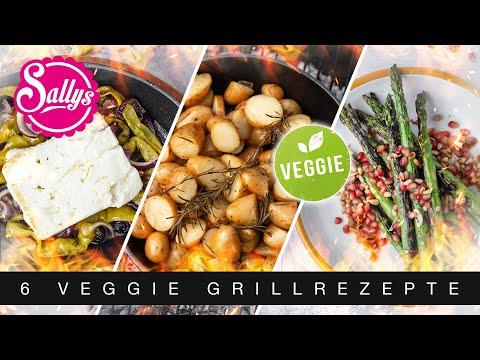 6 Grill Rezepte / Grillparty/ auch veggie / Sallys Welt