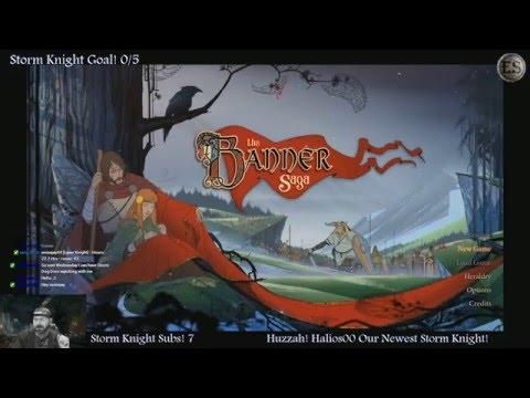 The Banner Saga Part 1 - The Eternal Sun (PS4/Gameplay/Twitch)