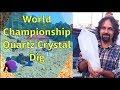 World Championship Quartz Crystal Dig in Arkansas