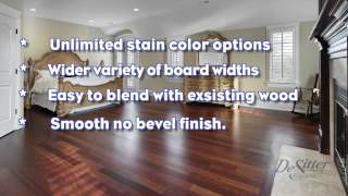 Site Finished & Pre-Finished Hardwood Flooring