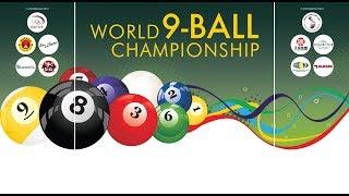 9 Ball  1/4 Final : Roland Garcia vs Jalal Al Sarisi