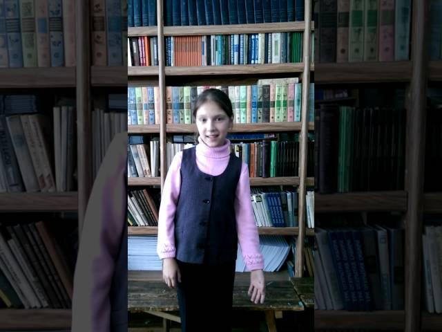 Изображение предпросмотра прочтения – КаринаРузлева читает произведение «Лебедь, Рак и Щука» И.А.Крылова