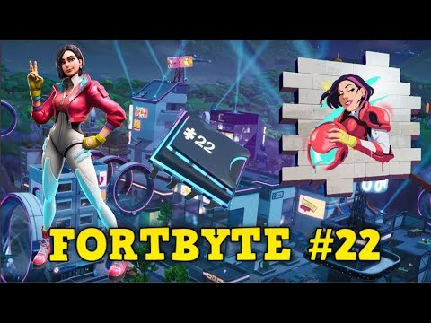 """Fortnite: Fortbyte #22 - """"Accessible by using Rox Spray in an underpass"""" - (Fortbyte #22 Location)"""