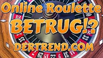 Ist online Roulette Betrug, der RNG manipuliert, nur Abzocke?