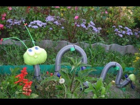 Дачнику на заметку: новая жизнь старого садового шланга