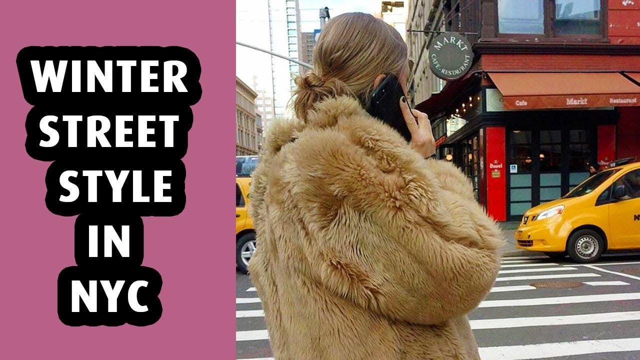 Winter Street Style in NYC -  Winter Lookbook 1