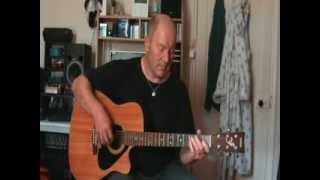 """Chris Swinney performs Little Feat's, """"Trouble""""."""