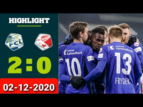 Luzern Sion Goals And Highlights