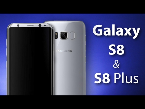 Samsung Galaxy S8 y S8 Plus - Especificaciones y diseño! - YouTube