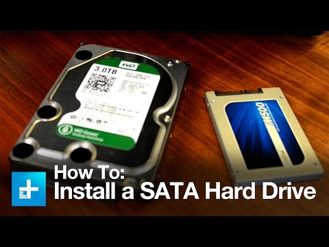 How to Install a SATA Hard Drive