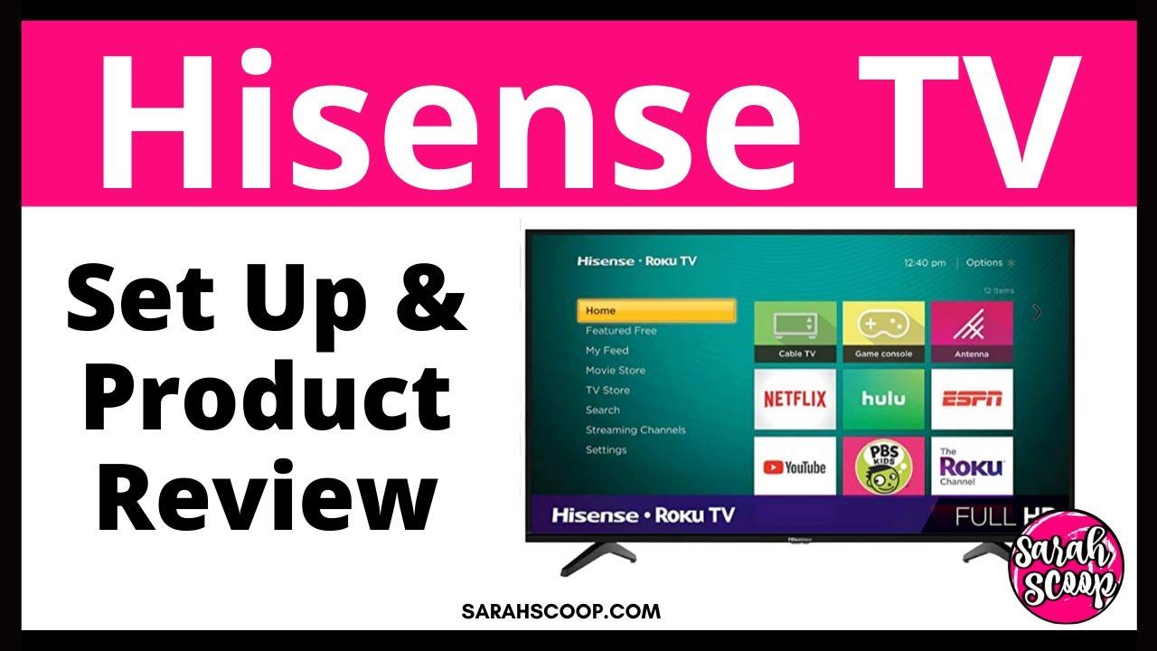 Hisense 4K UHD HDR Smart TV Secret 2 The Secret Service menu
