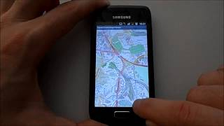 Basic Open Street Map Viewer Android App