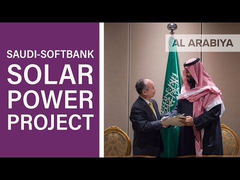 Everything you need to know about the Saudi-SoftBank solar power project