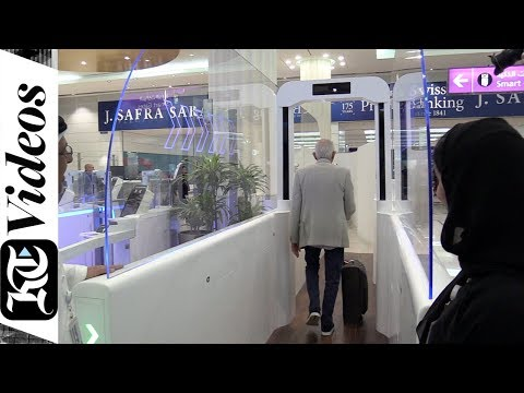 With smart tunnel, clear Dubai immigration without passport in 7 steps
