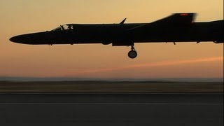 Evening performance of a Lockheed U-2