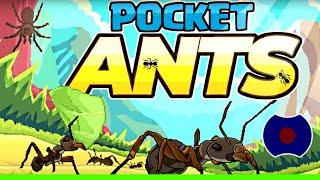 💥 Pocket Ants: Симулятор Колонии 💥 Теперь я муравей.