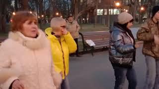 Запахло весной!!!Танцы в саду Шевченко,апрель 2021.