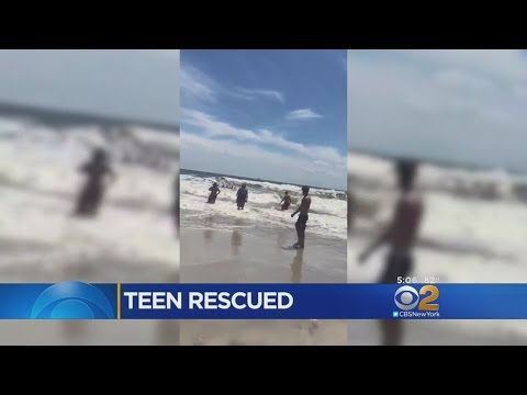 Lifeguards Rush To Save Boy In Long Beach, Nassau County