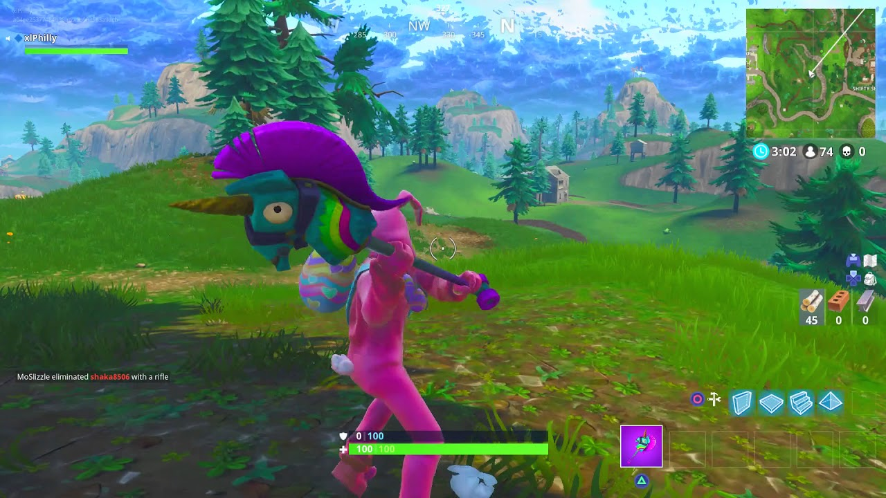 33f77d002ebac *NEW* RAINBOW SMASH FORTNITE PICKAXE SOUND EFFECTS AND GAMEPLAY!  @LYCANPHILLY