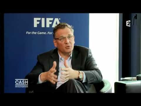 Interview 1 Jerome Valcke N°2 FIFA dans Cash Investigation 2013
