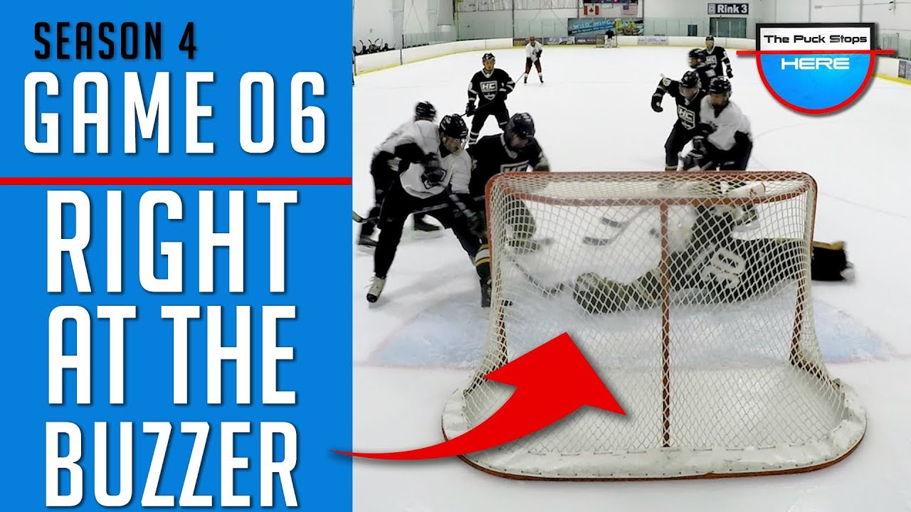 Right At The Buzzer Gopro Hockey Goalie Hd Game 6 Youtube