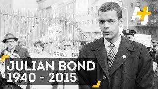 Remembering Julian Bond, A Civil Rights Hero