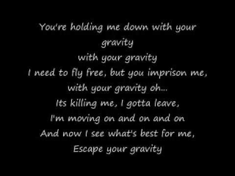 GRAVITY CONNIE TALBOT LYRICS