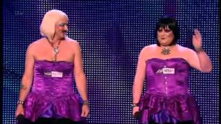 BRITAIN'S GOT TALENT 2013 - BOSOM BUDIES (LA VIE EN ROSE)