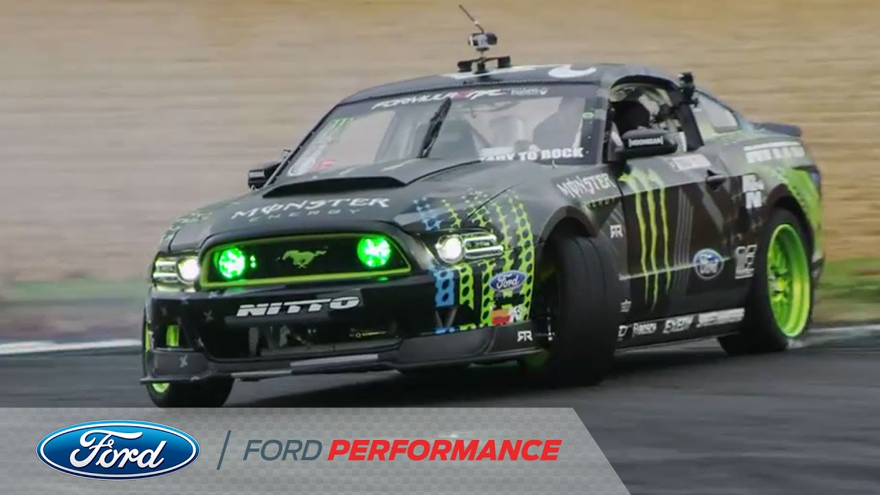 Vaughn Gittin Jr. Third Place Win in Atlanta: Round Two | Formula DRIFT | Ford Performance