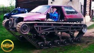 10 รถ DIY หนึ่งเดียวจากไอเดียเจ๋งๆ (ว้าว)