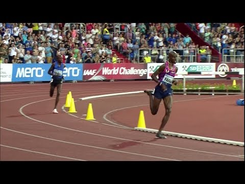 10000m Men Golden Spike Ostrava 2017 - Mo Farah 27:12.09 [English Commentary]
