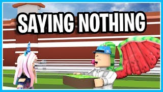 Giving $10,000 To Random People In Jailbreak And Saying Nothing | ROBLOX