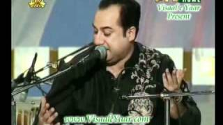 RAHAT FATEH ALI KHAN( Mustafa Ya Mustafa)IN PTV.BY Visaal