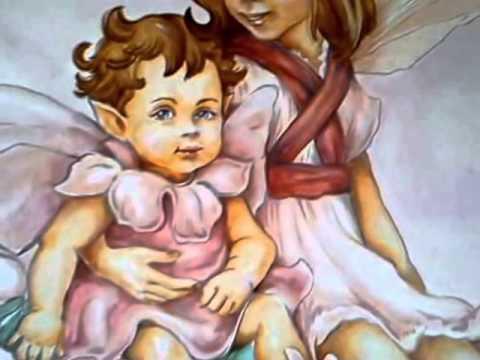Pittura murale-cameretta dipinta 2012 - YouTube